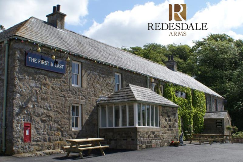 An exterior view of the Redesdale Arms.